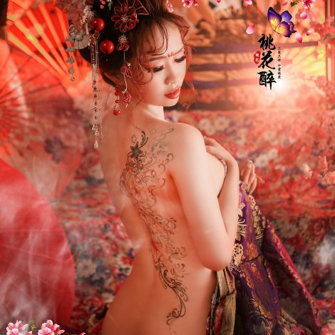 台灣花魁/台中花魁/日本豪華花魁攝影/秀和服/個人寫真/性感全裸寫真/藝術照/女攝影師
