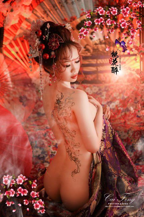 台中花魁/日本豪華花魁攝影/秀和服/個人寫真/性感全裸寫真/藝術照/女攝影師
