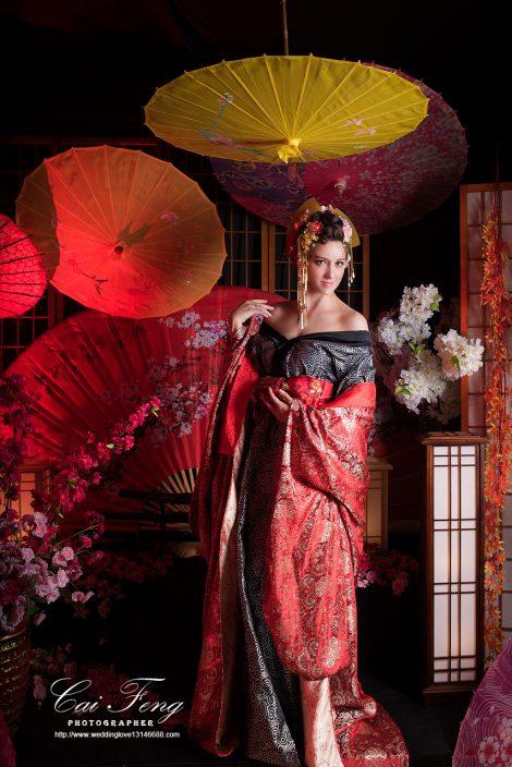 日本豪華花魁攝影