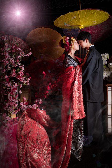 台中花魁-日本豪華雙人花魁攝影