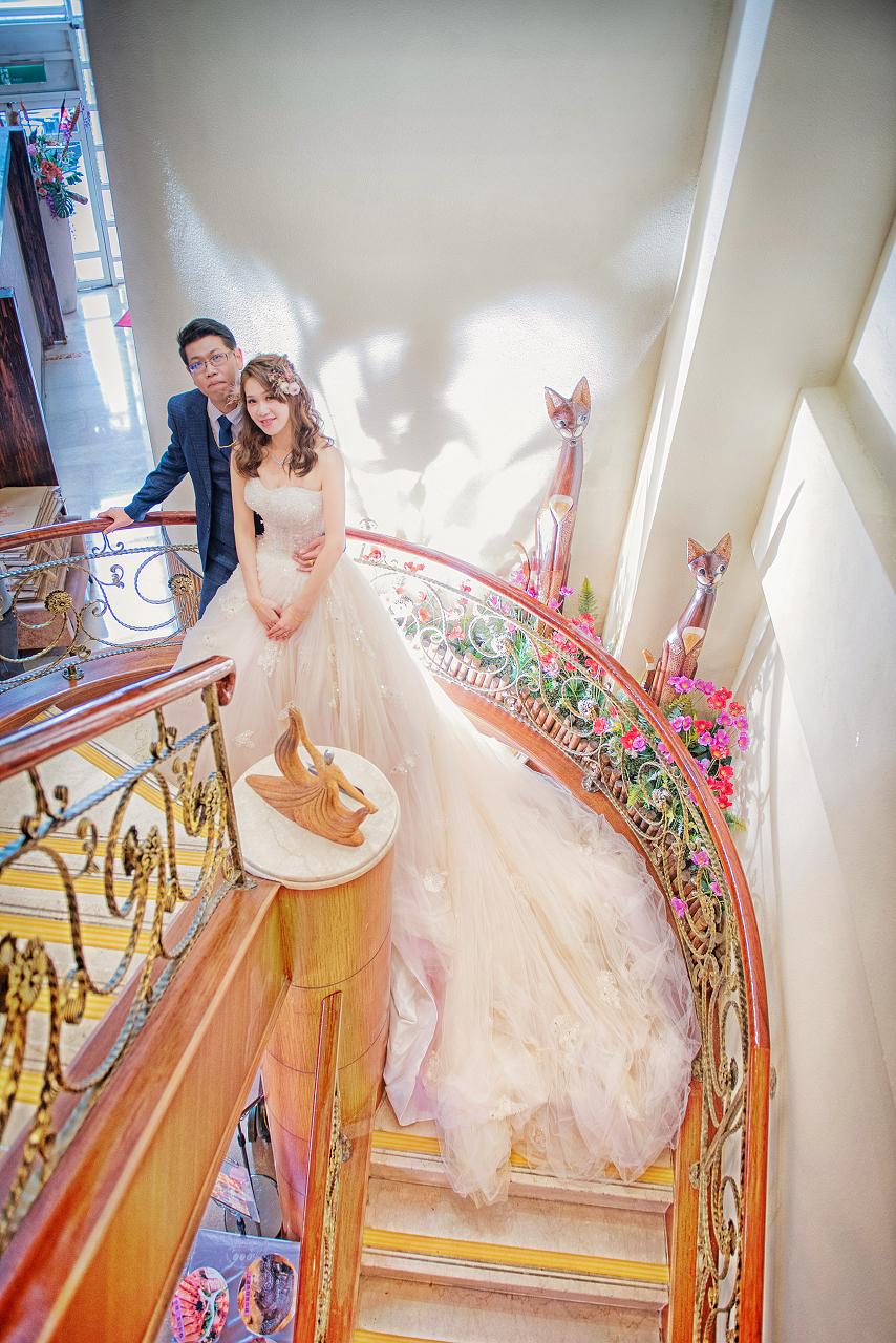 婚攝/台中婚攝/婚禮攝影/婚禮紀錄/│育倫與奕妘訂婚紀錄-台中擔仔麵婚宴會館