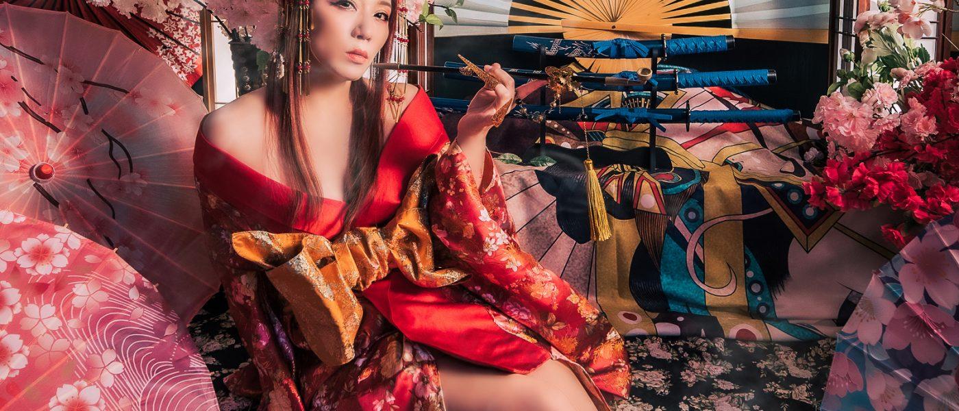 九尾妖狐系列花魁/日本豪華花魁攝影/台灣花魁性感寫真/藝術照/女攝影師團隊/客製化寫真/花魁寫真